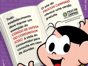 imagem campanha consumo consciente - PROCON de Campinas