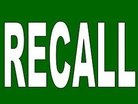 imagem Procon Campinas- RECALL escrito na cor branca com fundo verde