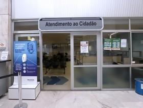Espaço do Cidadão, no saguão do Paço, passa a oferecer também serviços do Procon - Crédito: Fernanda Sunega