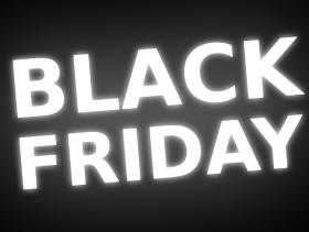 imagem extraída do google sem restrição de uso e compartilhamento - fundo em cor preta escrito em branco Black Friday