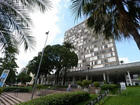 crédito PMC - imagem do prédio da Prefeitura Municipal de Campinas na Avenida Anchieta